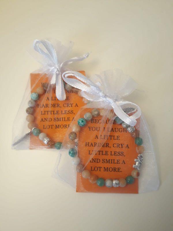One-of-a-kind friendship gemstone bracelets - all handmade by the DreamCatchingDuo - www.dreamcatchingduo.com