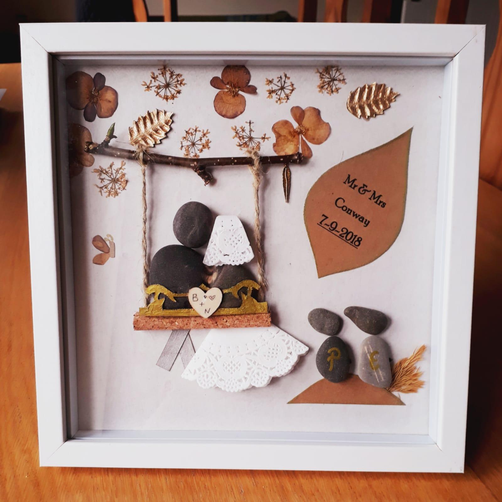 Thoughtful Wedding Gift Ideas: Mr & Mrs Frame