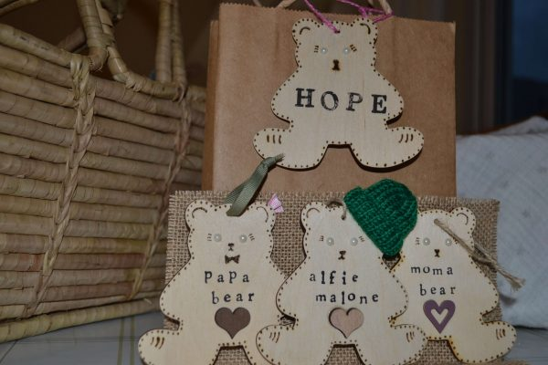 Hope bear, hope, charity, wind chime, personalised gift, mental health, self care, creativite ideas, perfect for childre,handcrafted all handmade by the DreamCatchingDuo - www.dreamcatchingduo.com