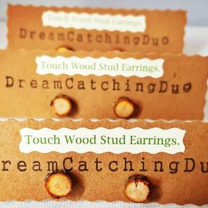wooden earring, eco friendly, gift for her, unusual gifts, made with love, handmade, touch wood, dreamcatchingduo,