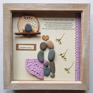 Eco friendly handmade frame