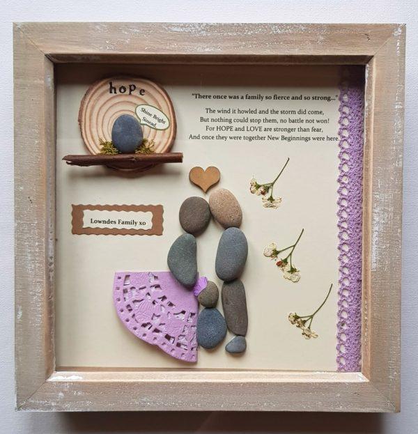 Eco friendly handmade frame