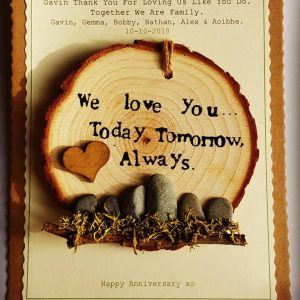Touch Wood Affirmation – We Love you…