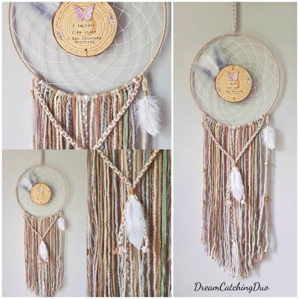 red dreamcatcher, handmade, unique gift, any occasion, bespoke, personalised, customised, dreamcatchingduo, irish, shop local, love dreaming, dreaming wild
