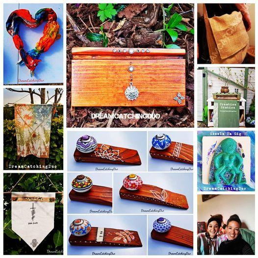 Homeware, doorstop, quirky home, love home, handmade in Ireland, tie dye,